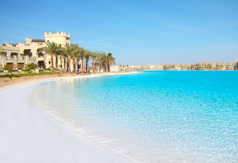 Crystal Lagoons has signed 13 contracts in Egypt, and is in the process of negotiating 10 others.