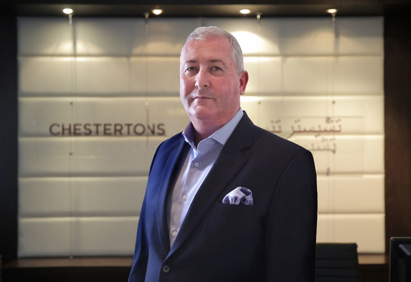 Declan McNaughton (above) says Chestertons is looking to expand its footprint in the Gulf with the addition of new offices in Dubai and Ajman, UAE.