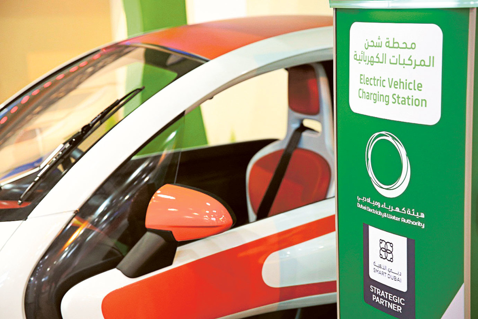 Dubai Electricity and Water Authority (DEWA) is installing 100 electric chargers across the emirate.