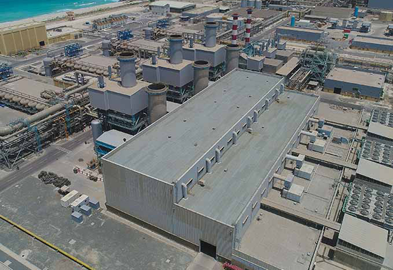 GE will implement improvement works on three gas turbines at the Jebel Ali Power and Desalination Station [image: DEWA].