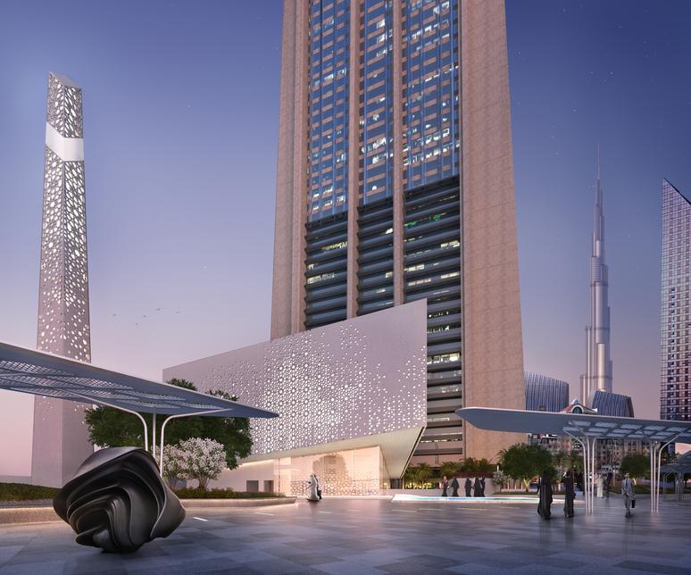 DIFC Grand Mosque will open in 2019 [image: Dubai Media Office].
