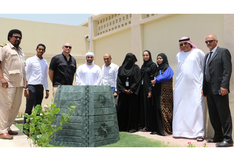 13 thermal fertilizer containers were distributed by Dubai Municipality.