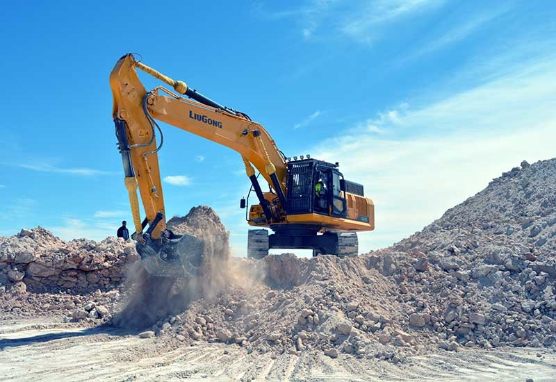 The 20- to 25-tonne and 30- to 40-tonne range account for around 80% of Liugongs excavator market share in the MENA region.