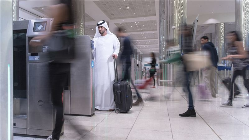 More than 234,000 UAE residents have used the smart immigration gates installed at Dubai International Airport. [Image: Dubai Media Office]