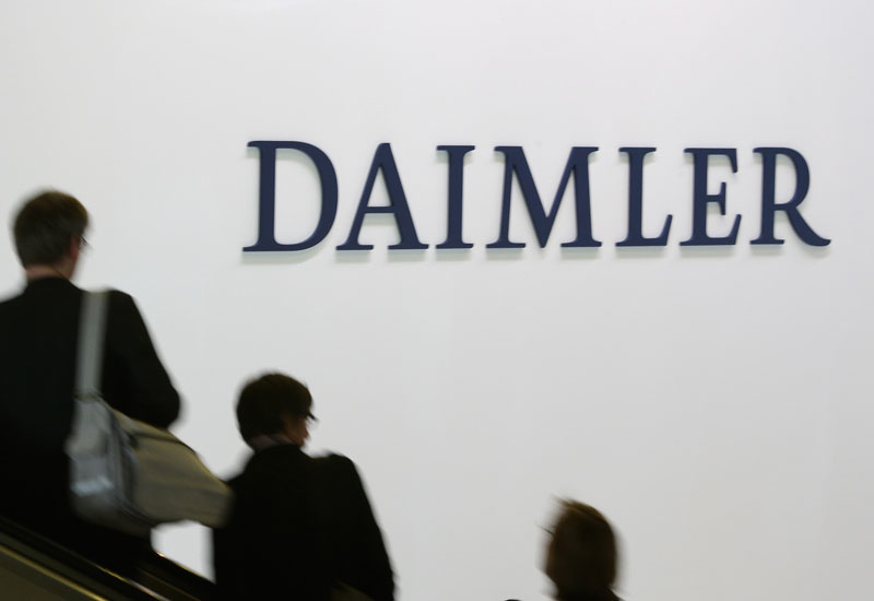A sausage-related fight broke out at Daimler AG's annual general meeting (AGM), despite the fact that shareholders approved the largest dividend in the automaker's history.