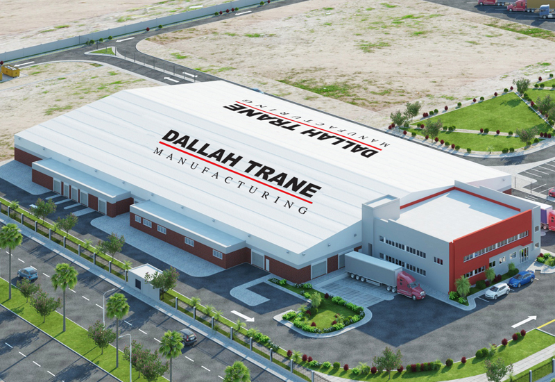 The Trane Dallah Manufacturing plant will be developed in KAEC, Saudi Arabia.