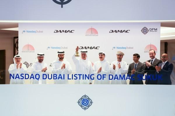The $500m sukuk is the second sukuk listing Damac Properties has made on Nasdaq Dubai [image: WAM].