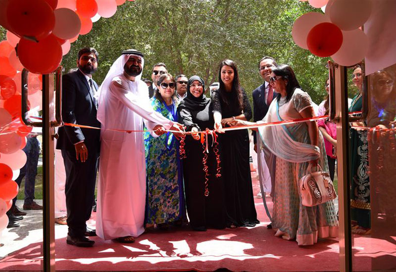 Representatives from JAFZA, Danube, and CDA unveiled the workers' classroom.