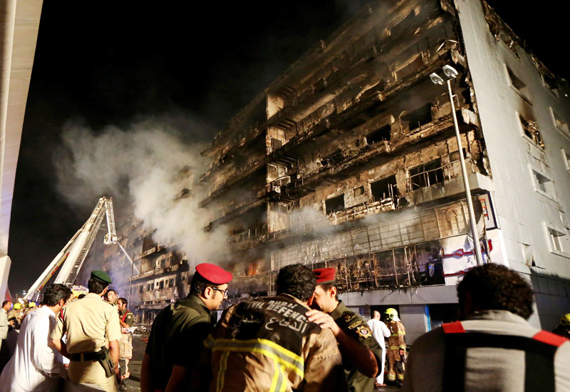 Dubai Civil Defence and Honeywell's MoU is aimed at reducing the agency's response time to fire incidents. [Representational image / Getty]