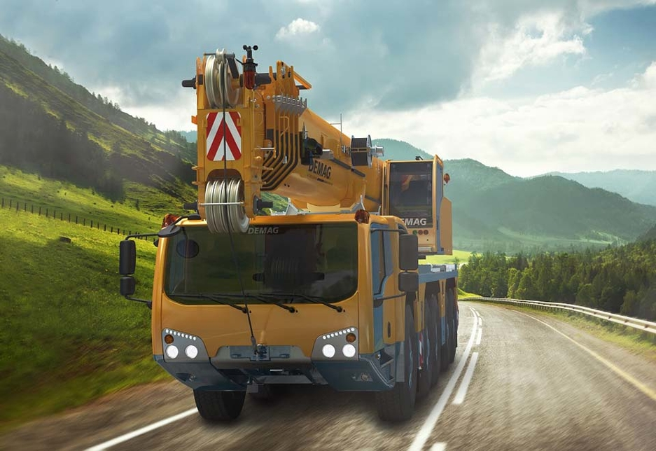 The AC 160-5 is one of the Demag machines announced by Terex after it relaunched the all-terrain brand at Bauma 2016.