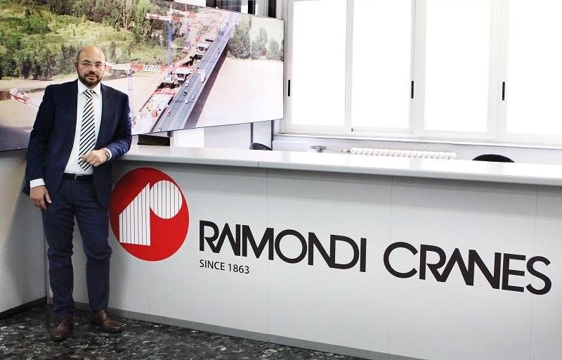 Domenico Ciano, technical director, Raimondi Cranes.