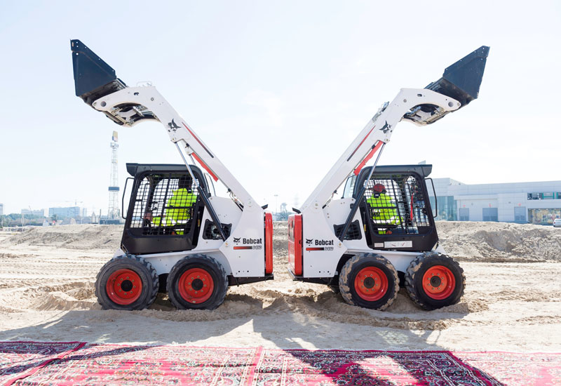 The Bobcat 540 at a launch event in Kuwait.