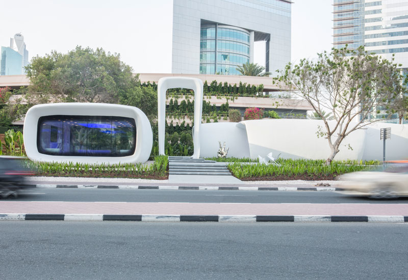 Shaping the future: The region's first-ever 3D printed office, named Office of the Future, was launched in Dubai this year.