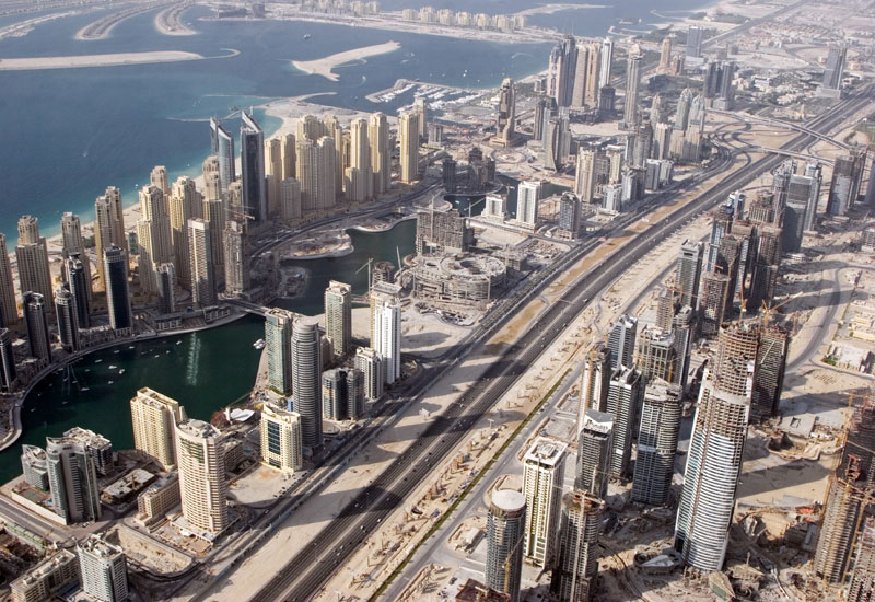 Jumeirah Beach Residence was down 16% to $373 (AED1,370) per square foot.
