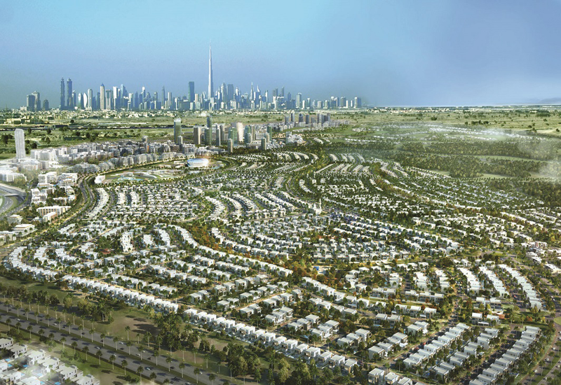 Dubai Hills Estate will have a total green area of over 2.2 million sqm that includes the golf course and a central park.