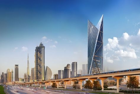 The 70-floor high-rise building will be located next to Al Habtoor City.