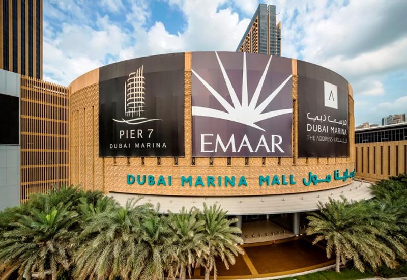 Dubai Marina Mall is one of Emaar Malls' assets.