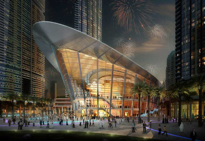 Dubai Opera uses Siemens' building management platforms.