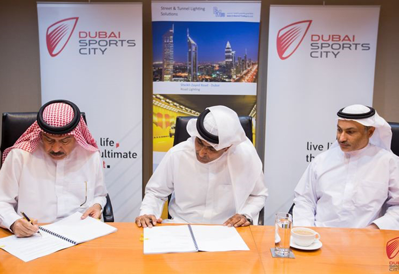 In addition to installation, BMTC will remotely monitor and analyse the performance of Dubai Sports City's solar-powered street lighting.