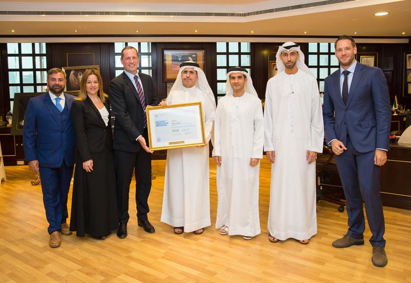 Authorities from DEWA, Etihad ESCO, Dubai Carbon and Farnek.