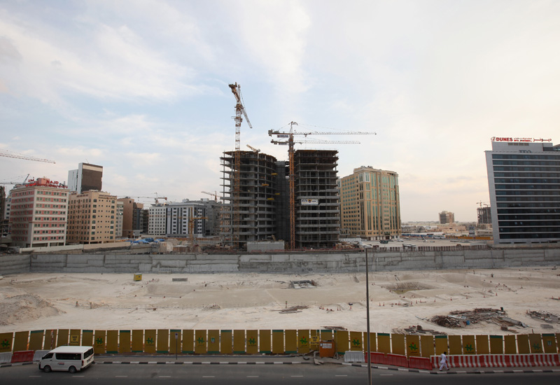 Fences have been mandated for all multi-storey Dubai construction sites. (Getty Images)