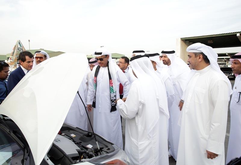 Eng. Hussain Nasser Lootah, director-general of Dubai Municipality, attends the handover ceremony.