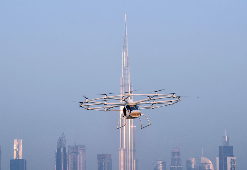 RTA plans to use Volocopter AATs to establish the worlds first self-flying taxi service [image: <i>WAM</i>.