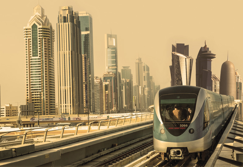 An MoU has been inked to further the use of 3D printing across the RTA rail agency's maintenance operation [representational image of Dubai Metro].