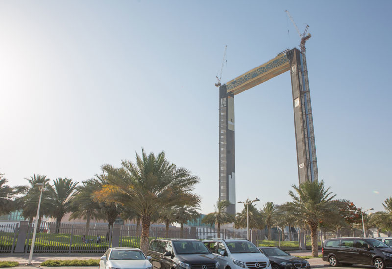Dubai Frame is reportedly likely to be completed this year.