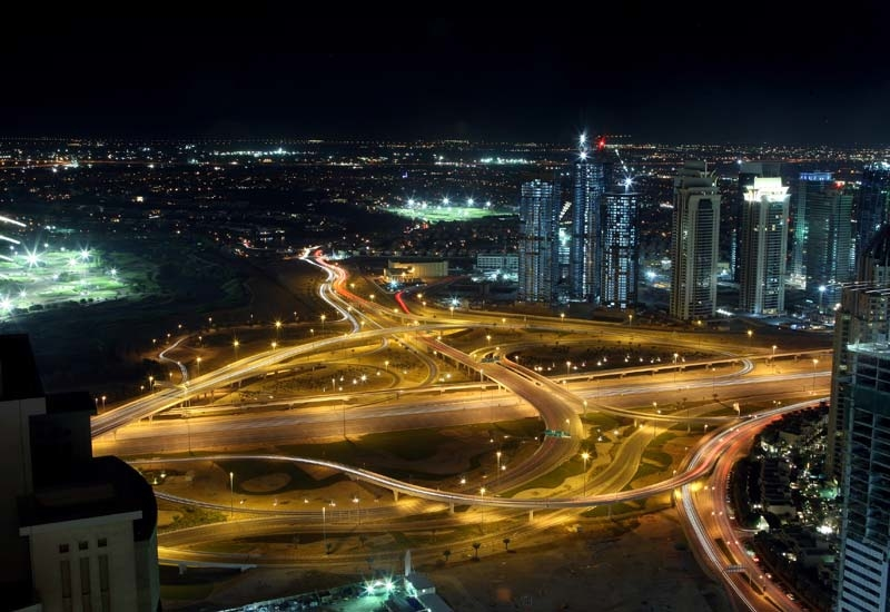 DEWA is studying the scope for smart lighting and roads fitted with PV cells [representational image].