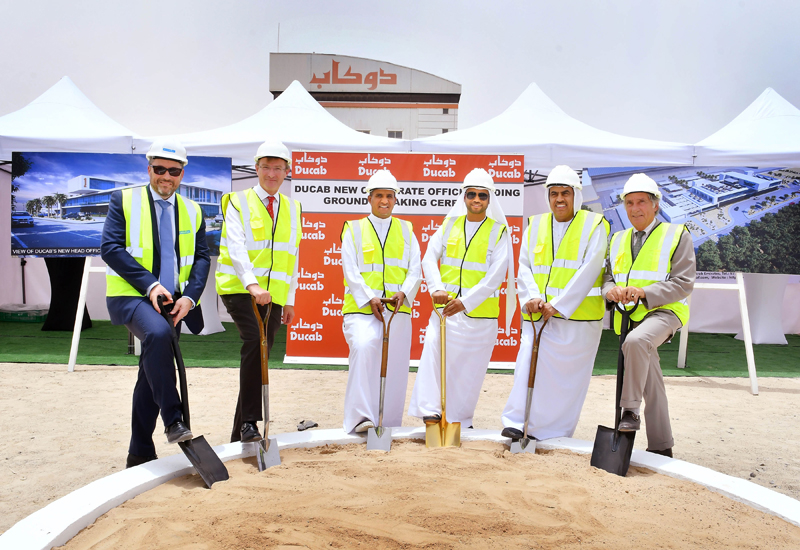 Ducab has broken ground on its new global headquarters.