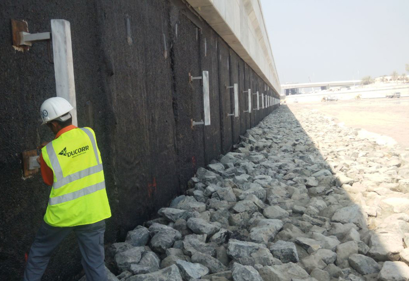 Ducorr completed a $367,000 contract to provide corrosion protection for a section of Dubai Water Canal.