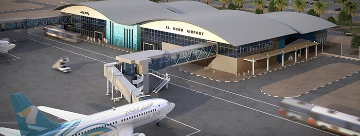 Duqm Airport's construction is due for completion in 2017, with commencement of operation scheduled for 2018. [Image: duqm.gov.om]