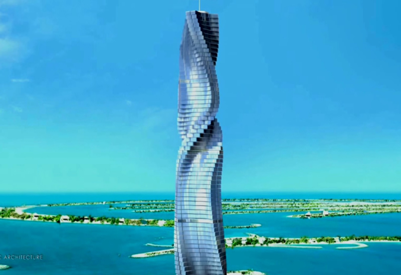 Dubai's Dynamic Tower would feature a selection of apartments that could be rotated independently of one another.
