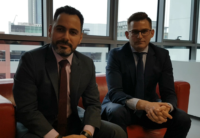 WSP   Parsons Brinckerhoff's Elie Ghoussoub (left) and Steven Carpenter (right) expect Dubai Universal Design Code to aid the implementation of accessibility-related measures.