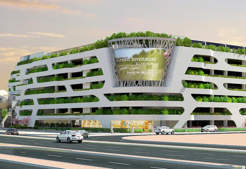 Multi-storey carpark project near Dubai World Trade Centre (DWTC).