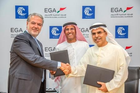EGA signs long term supply agreement with Shaheen Chem Investments.