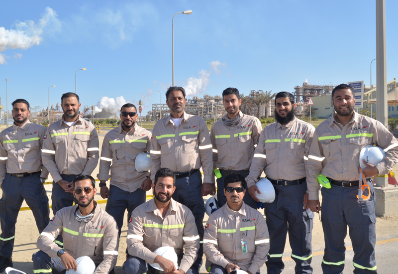 EGA has seconded 10 of its young Emirati engineers for five months to Ma'aden, Saudi Arabia, to gain experience ahead of the opening of its Al Taweelah plant.