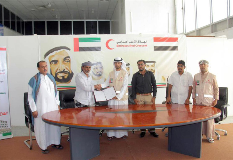 ERC and Shakhmar Contracting Company have signed a deal to refurbish Shabaat School in Yemen.