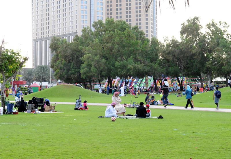 Dubai's public parks were busier during Eid Al Fitr 2017 than the previous year.