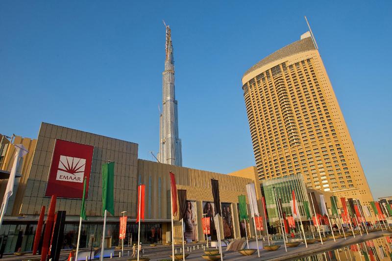 The Dubai Mall in Dubai, UAE.