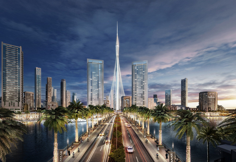 Emaar has completed the pile foundations for the new global skyscraper, The Tower.