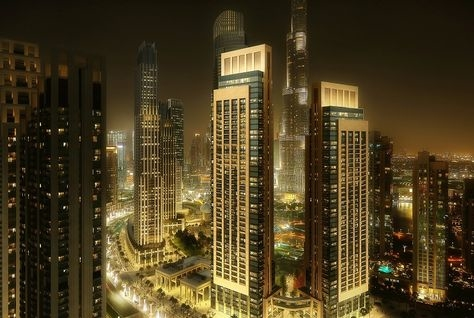 The, 'Act One | Act Two' residences, both have views of Burj Khalifa and the Mohammad Bin Rashid Boulevard.