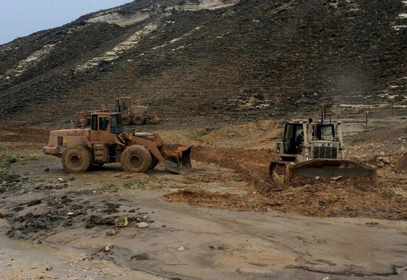 Oman has built an alternative road following damage caused by Cyclone Mekuna.