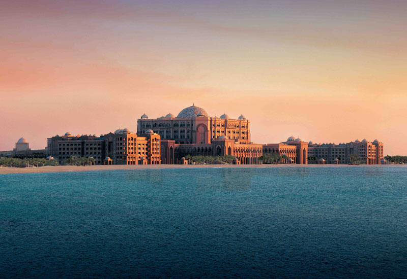 Emirates Palace, with a built-up area of over 270,000m2.