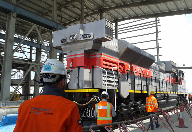 Etihad Rail suspended tenders for Stage 2 of the UAE's national railway network in January 2016.