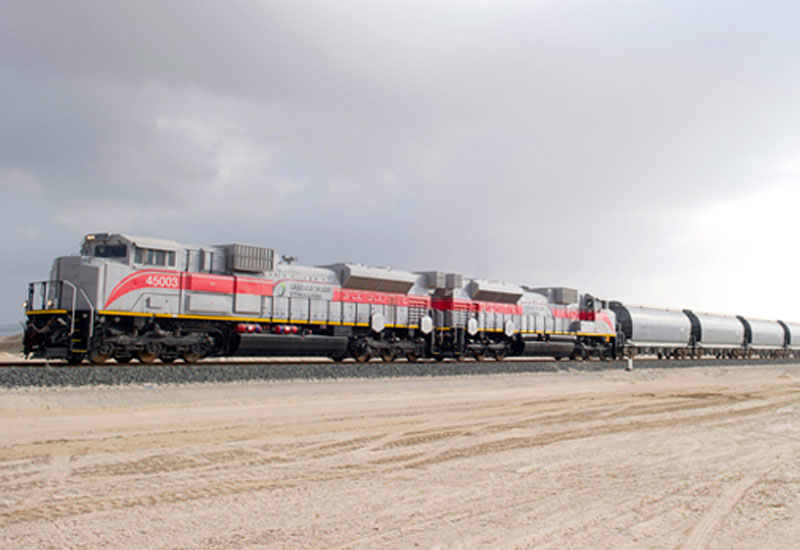 US firm Jacobs has won a contract from the UAE's Etihad Rail [image: etihadrail.ae].