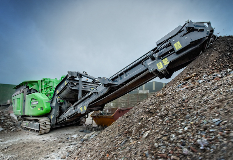 The Cobra 230 impact crusher is the first product to be launch under Terex's EvoQuip brand.