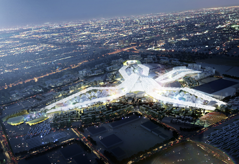 Expo 2020's deep infra works include irrigation and sewerage, pipes and cabling, and telecoms ducting.