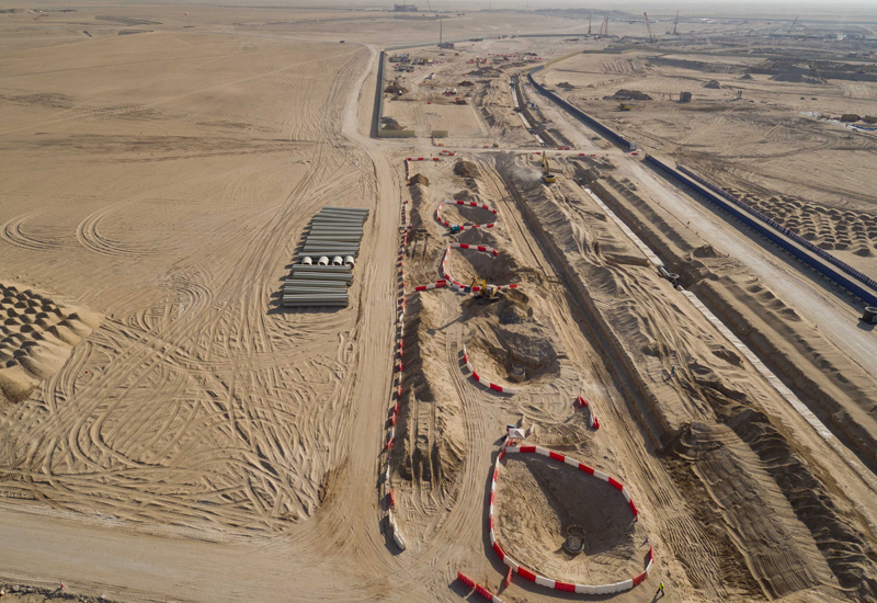 An Orascom-Besix joint venture was awarded the contract for deep infrastructure works at the Expo 2020 site in Dubai South late last year.